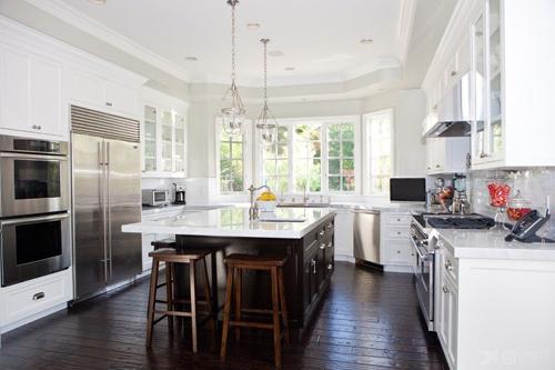 欧式风格的厨房设计 尽显欧式的奢华