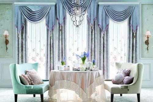 欧式风格的窗帘设计 高端大气上档次