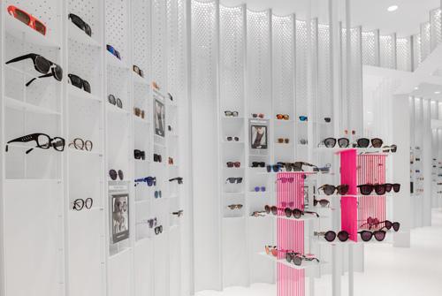 上海精品眼镜时尚空间概念店设计