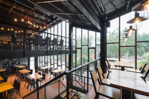钢结构海鲜餐厅设计