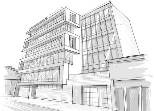 王受之谈建筑手绘与建筑设计