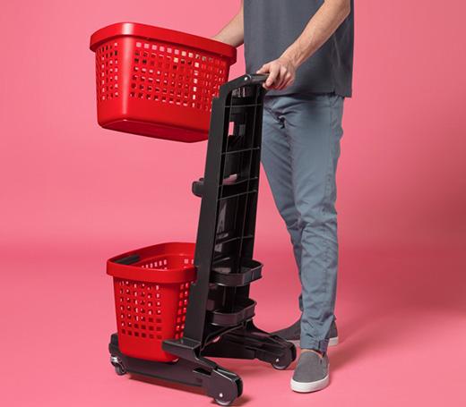时尚个性的购物篮设计