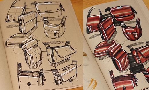 工业设计手绘草图