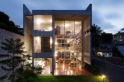 巴西建筑师设计的Paulo querosene宫