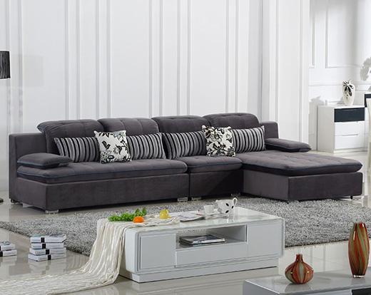 家庭装修中,要学会搭配深灰色沙发的沙发垫