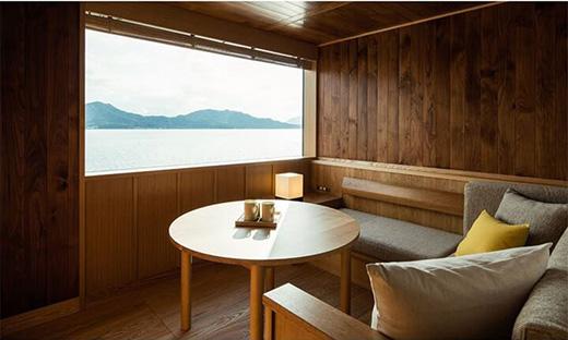 来一场漂浮之旅—濑户内海海上移动旅馆