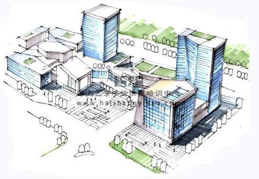 建筑设计的五种表现方式