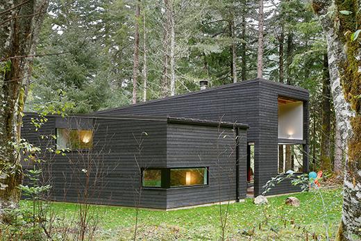 河边的小木屋别墅让你心旷神怡