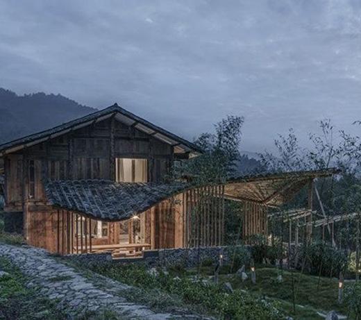 老村落里诞生不寻常的建筑设计