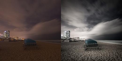 建筑与风景摄影修图前后对比