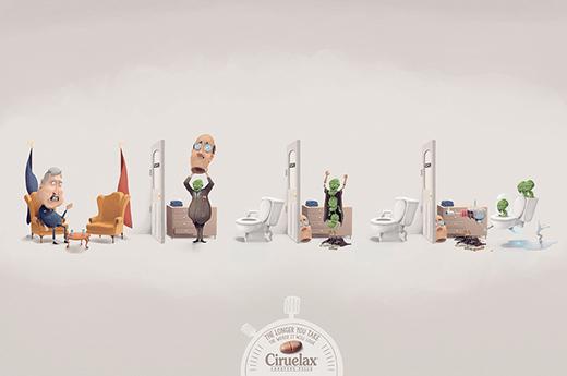 三组关于咖啡的创意广告设计