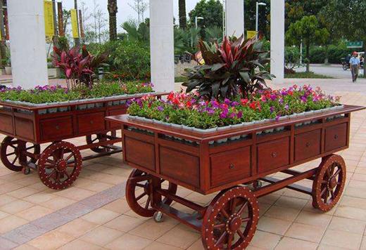 花箱对于景观建筑设计的作用