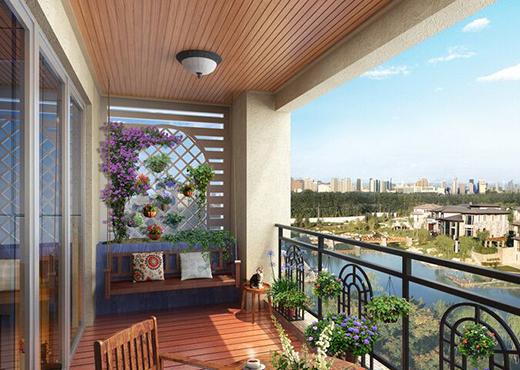 阳台设计技巧 打造自然家