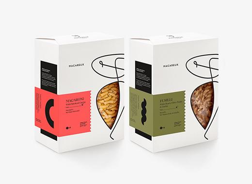 MACAREUX © 面条食品包装盒设计