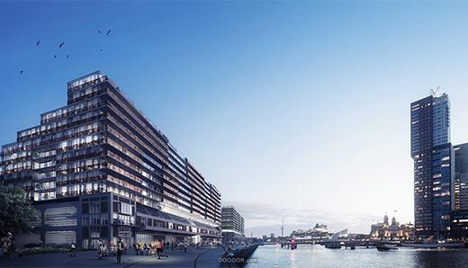 荷兰海牙WAX Architectural Visualizations建筑设计作品