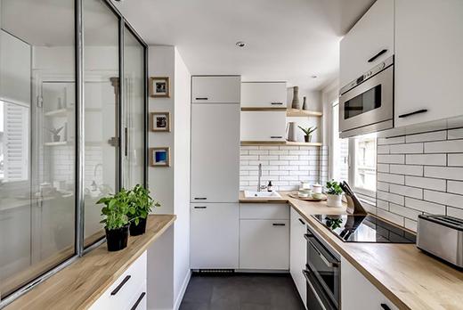 厨房小怎么装修?4款小厨房的装修设计案例!