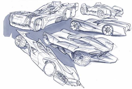 美国John Frye汽车概念手绘设计