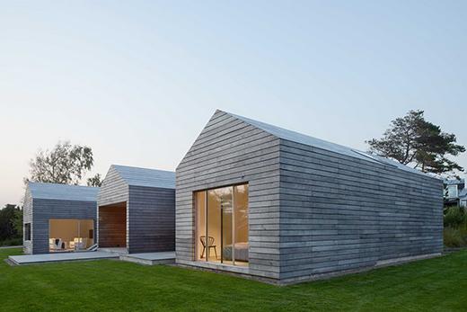 在瑞典林德瓦尔设计的全木凉亭别墅