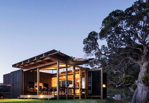 心情度假国外城乡结合部私人小别墅设计