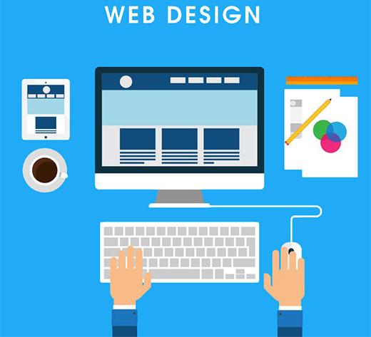 行业动态网页设计的误区