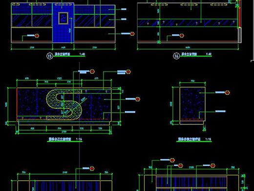 平面设计中的空间形式!
