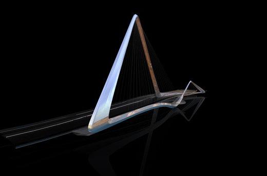 中国●珠海●无限循环桥建筑设计