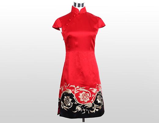 品牌设计,质感魅力,时尚旗袍小香风!