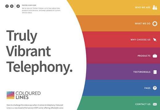 网页设计中色彩的运用