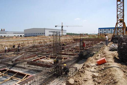 建筑地基不均匀沉降的原因及设计措施