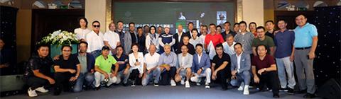 中国明星设计师高尔夫俱乐部成立!