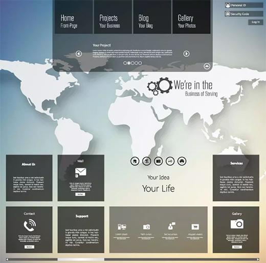网页设计中视觉层次的几个核心原则!