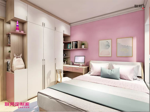 联邦定制家 | 卧室设计成这样,幸福指数很高!