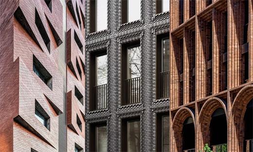 设计元素:高层砖砌建筑