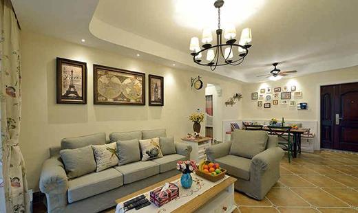 现代美式风格装修设计,时尚大气的家居空间,堪称完美!