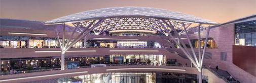 太原万象城灯光设计:融入自然,点亮建筑的夜间形象