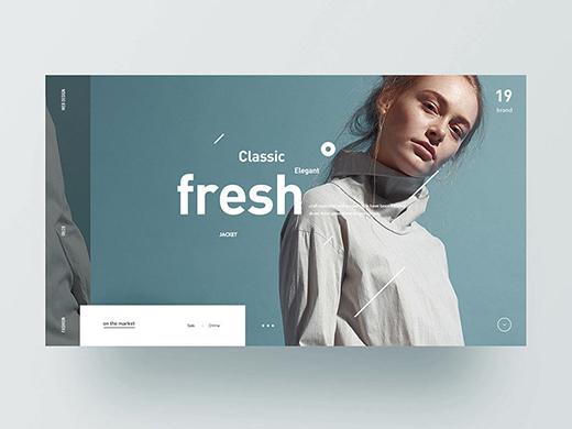 网站首屏设计