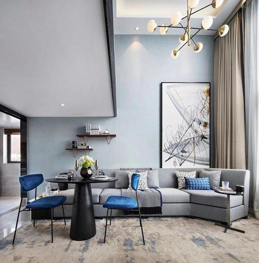 创时空设计丨合肥国贸天成平层样板房:雅澹隽秀,现代艺韵