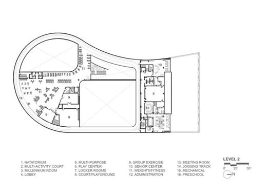 结构严谨、空间协调的建筑设计