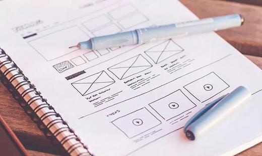 网站设计中的线框图是什么?