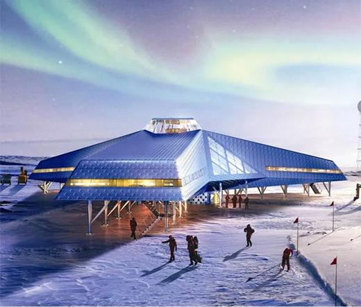 """持续""""升温""""的南极洲,有哪些建筑设计?"""