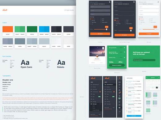 如何创建网页设计风格指南?
