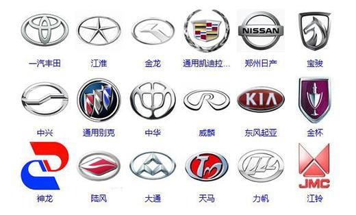 优秀Logo设计!汽车类标志表现手法