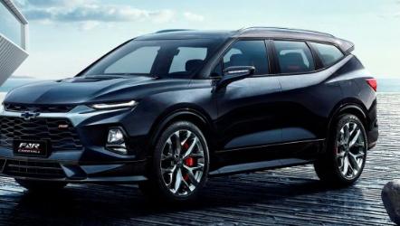 雪佛兰FNRCARRYALL概念预览该品牌的新SUV设计标志