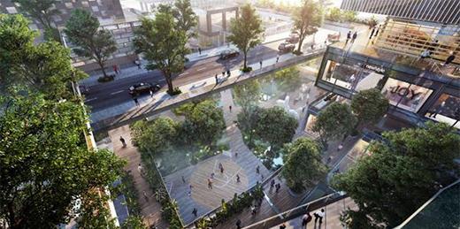 """""""万科3D城市""""建筑设计遵循""""三维城市""""概念,效果很震撼!"""