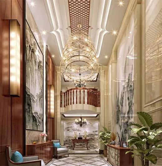 850平新中式别墅,这样设计更多采光更多通风