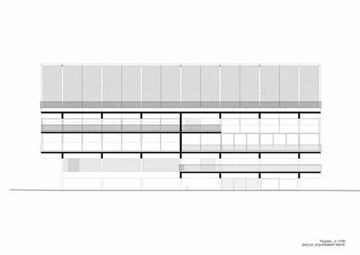 巴黎全民共享的公共设施建筑设计
