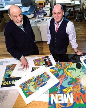 传奇设计师米尔顿·格拉瑟,让字母变成艺术
