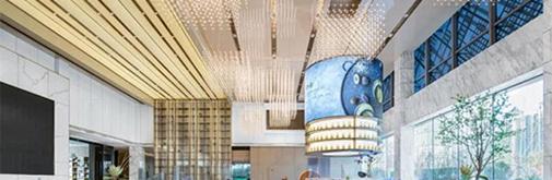 董蕾艺术东方设计:城市会客厅,济南远大营销中心