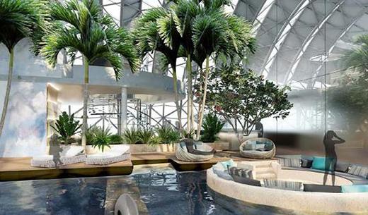 CL3新作|重庆来福士洲际酒店即将面世,诚邀宾客空中航游