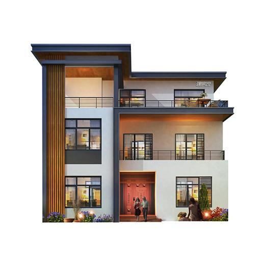 造墅家装修设计图:生活要讲究 房屋不将就